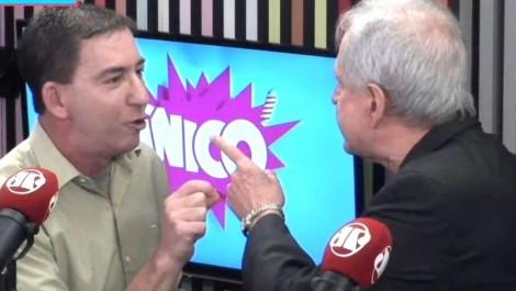 De acordo com a lei, na briga entre Augusto Nunes e Glenn, o criminoso é o americano. Entenda porque...