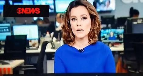 """Em deprimente ato falho, jornalista da Globo trata Bolsonaro como """"ex-presidente"""" (veja o vídeo)"""