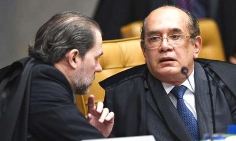 Alucinado, Gilmar ignora Toffoli e afronta o Congresso