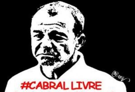 """""""Cabral Livre!"""": Advogada de Cabral quer a soltura do ex-governador (veja o vídeo)"""