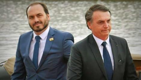 Todas as contas de Carlos Bolsonaro nas redes sociais fora do ar