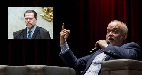 """Ex-chefe da Lava Jato sobre Toffoli: """"Exerce a presidência do STF como um déspota arbitrário"""""""