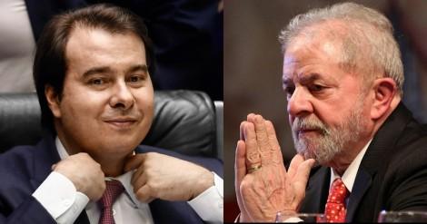 Rodrigo Maia, cobiçado como vice em chapa petista, aceita encontro com Lula