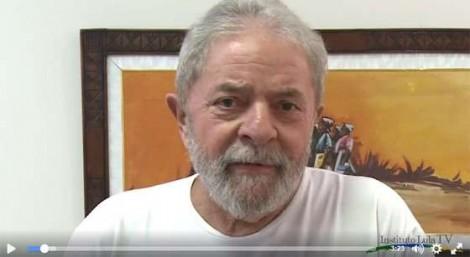 """Em vídeo dirigido a militância, Lula convoca a """"massa de manobra"""" para provocar o caos no Brasil (veja o vídeo)"""