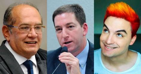 Câmara homenageia Gilmar, Glenn e Felipe Neto e manda recado para a sociedade