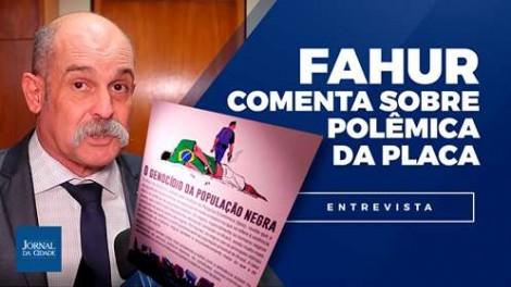 """""""Eu sou Sargento Fahur, não tenho medo de cara feia, nem de vagabundo, seja de esquerda ou da p.q.p"""". (Veja o vídeo)"""