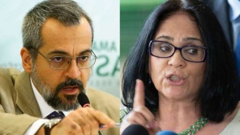 Corajosos, Weintraub e Damares batem de frente com a esquerda, que sequestrou a educação e os direitos humanos