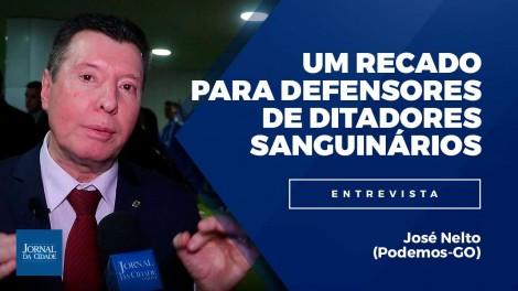 Para quem defende ditadores sanguinários, o deputado José Nelto manda um duro recado (veja o vídeo)