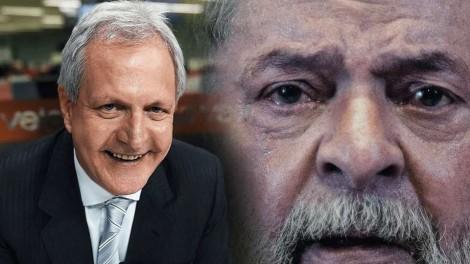 """Augusto Nunes enumera as inúmeras """"delinquências"""" de Lula e vaticina: """"nunca mais será candidato"""" (veja o vídeo)"""