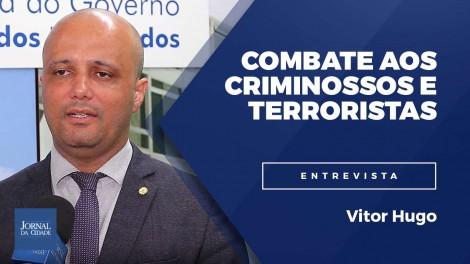 Ministro Sergio Moro e major Vitor Hugo contra os criminosos e terroristas (veja o vídeo)