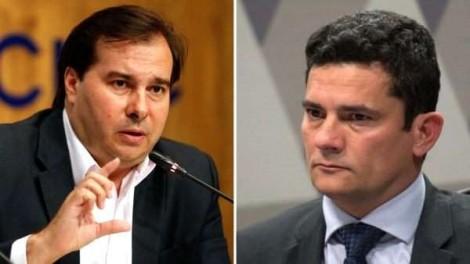 """Declaração irresponsável de Maia sobre """"Paraisópolis"""" é desmentida de imediato por Moro"""