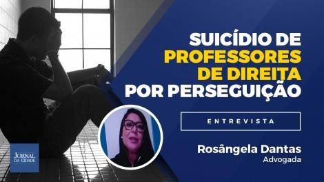 """Advogada relata perseguição a professores de direita: """"alguns se suicidaram"""" (veja o vídeo)"""