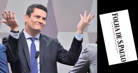 """Moro aniquila """"armadilha"""" da Folha e encerra papo"""