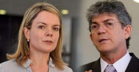 Gleisi não perde tempo e sai em defesa de mais um político envolvido em corrupção
