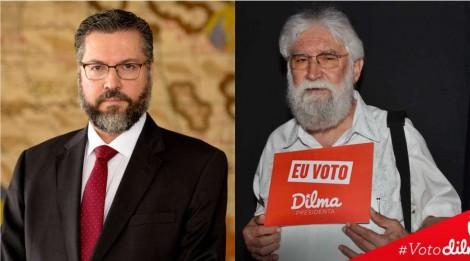 "Ministro Ernesto Araújo dá ""surra intelectual"" em Leonardo Boff, o teólogo petista"