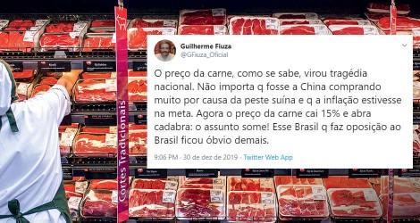 Preço da carne baixou e continuará assim, aponta Ministério da Agricultura