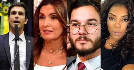 """Ex-nadador e atual deputado, Luiz Lima destrói Fátima, """"namorado da Fátima"""", Ludmilla e a Globo (veja o vídeo)"""