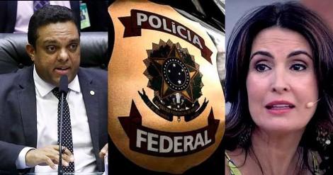 Deputado denuncia Fátima Bernardes na Polícia Federal, por apologia às Drogas