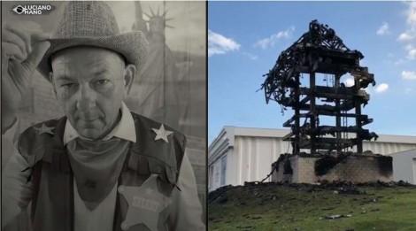 Luciano Hang oferece R$100 mil para quem entregar o responsável pelo ataque a estátua da Havan (veja o vídeo)