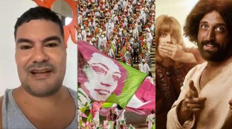 Folião alerta: Desfile da Mangueira será ainda mais ofensivo a cristãos do que Porta dos Fundos (veja o vídeo)