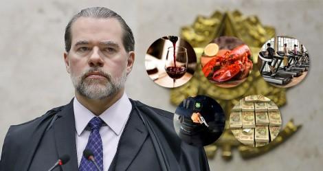 STF: Academia, lagostas, vinhos e agora R$ 3,4 milhões para escolta armada