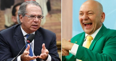 Paulo Guedes dá show em frente a líderes mundiais e Hang comemora
