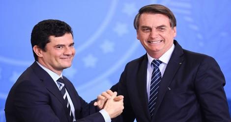 Contrariando boatos da velha mídia, Moro comemora recorde de prisões e deixa clara lealdade a Bolsonaro