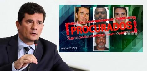 Moro divulga lista dos 26 criminosos mais procurados do país, cuja prisão é essencial e estratégica