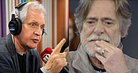 """Augusto Nunes destrói Zé de Abreu: """"Cafajeste na novela e vida real, um coadjuvante vocacional e incurável"""" (veja vídeo)"""