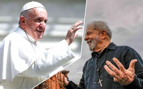 """O Papa, o Lula, a """"vaquinha"""" da igreja e a incoerência de Francisco"""