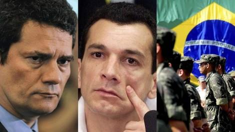 """Moro confirma Forças Armadas no presídio onde está Marcola: """"Os criminosos que têm que temer o governo, e não o contrário"""""""