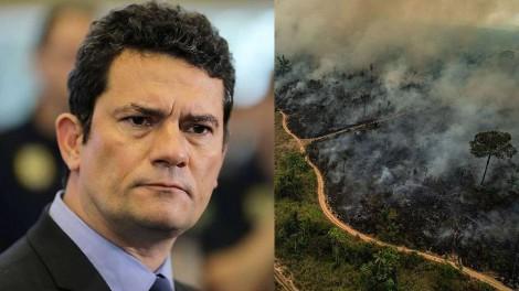 Para combater desmatamento ilegal na Amazônia, Moro convoca Força Nacional