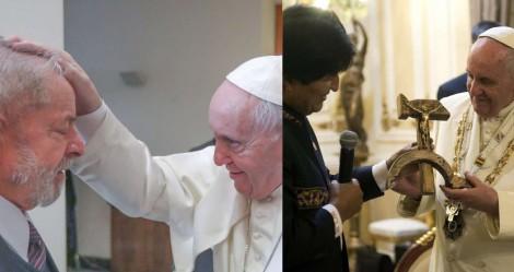 Francisco segue dando trela para comunistas criminosos, envergonhando a Igreja e enfurecendo fiéis