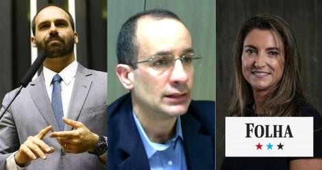 Revista  citada na Lava Jato, de pai de jornalista da Folha, recebeu quase R$ 1,6 milhão de Marcelo Odebrecht, relembra Eduardo Bolsonaro