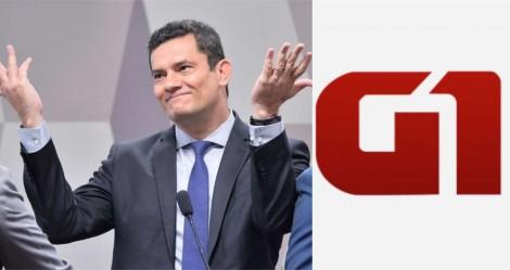 Globo se rende ao êxito de Moro no combate à criminalidade: número de assassinatos é o menor de série histórica