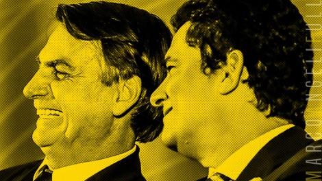 """Bolsonaro parabeniza Moro por ter chamado deputado inescrupuloso do PSOL de """"desqualificado"""" (veja o vídeo)"""