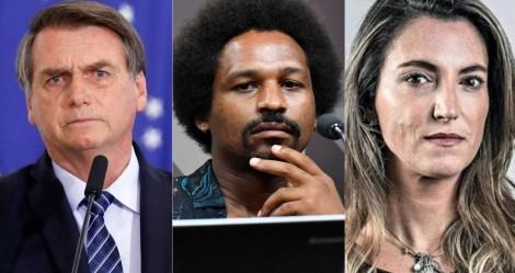 """Bolsonaro fala sobre Hans River e Patrícia Campos Mello: """"Ela queria dar o furo contra mim"""" (veja o vídeo)"""