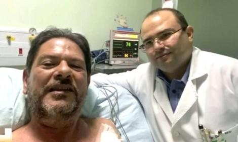 O criminoso Cid Gomes está vivo graças ao atirador