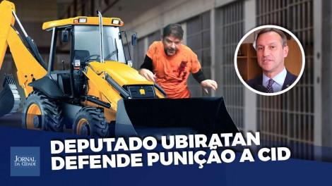 Cid Gomes, o homem da retroescavadeira, deve ser processado e até condenado, diz deputado (veja o vídeo)