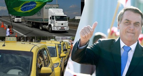 Por eventual prejuízo a taxistas e caminhoneiros, Bolsonaro põe na rua toda a diretoria do Inmetro (veja o vídeo)
