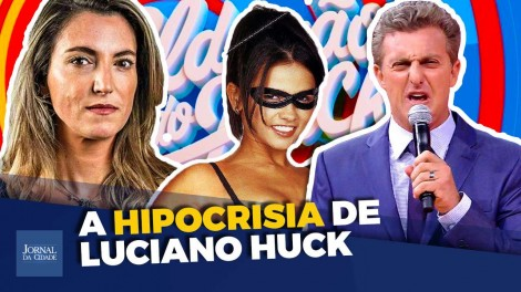 Luciano Huck e o limite da indecência (veja o vídeo)