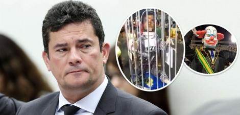 "Escola de Samba ecoa a voz do crime organizado no Rio de Janeiro e põe Moro ""enjaulado"" (veja o vídeo)"