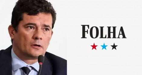 """Moro não perdoa e revela mais uma descarada """"fake news"""" da Folha"""