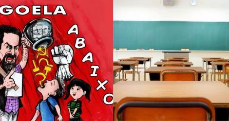 Professora de escola pública faz militância contra Bolsonaro e aluna processa o estado