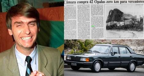 No túnel do tempo: Em 1990 o 'vereador Jair Bolsonaro' recusou um carro de luxo pago pela Câmara (veja o vídeo)