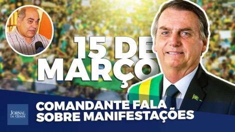 Comandante alerta: Bolsonaro precisa de nós (veja o vídeo)