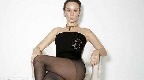 """Por considerar """"machista"""", Mariana Ximenes entra na campanha para abolir o nome """"tomara que caia"""" do vestuário feminino"""