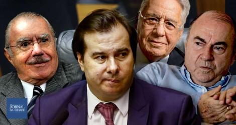 Os três conselheiros de Rodrigo Maia
