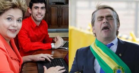 Dilma Bolada, paga, pode… Carioca, de graça, não pode...