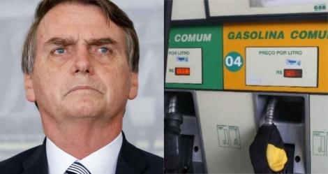 Bolsonaro aponta possível queda no preço dos combustíveis